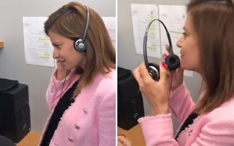 بالفيديو/ الوزيرة ندى البستاني تتلقى اتصالات المواطنين لمعالجة مشاكلهم في مركز الاتصالات في صيدا