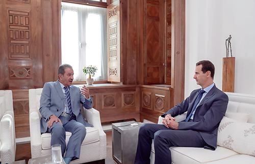 الرئيس السوري بشار الأسد: سيسدل الستار على الحرب الإرهابية...سوريا عائدة إلى دورها المحوري العربي
