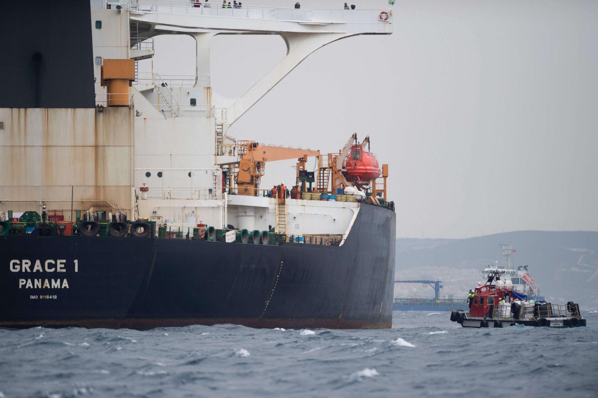 """سلطات جبل طارق تفرج عن ناقلة النفط الإيرانية """"غريس 1"""""""