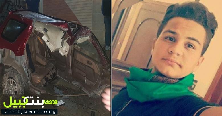 بالصور / نهار ينتهي بالمأساة.. علي حسن ملحم قضى بالحادث المروع في انصار