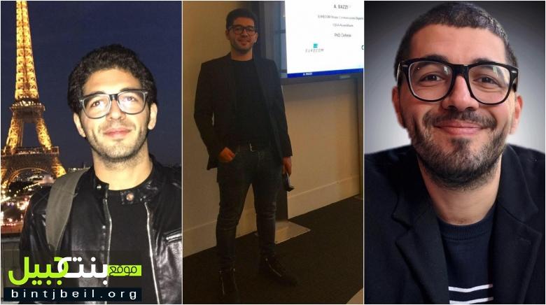 من بنت جبيل إلى فرنسا...الشاب أحمد بزي حمل طموحه ليترجمه تفوقاً في هندسة الكهرباء والكمبيوتر