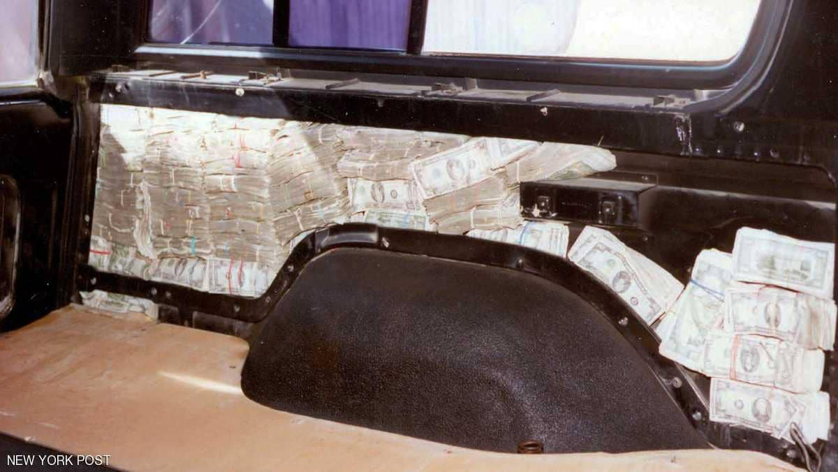 بالصورة/ سيارة محشوة بـ 1.2 مليون دولار!