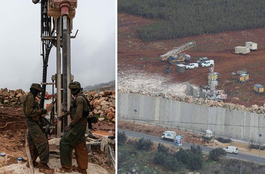 جيش الإحتلال الإسرائيلي يزعم اكتشاف نفق ثالث يمتد من الأراضي اللبنانية إلى داخل الأراضي المحتلة