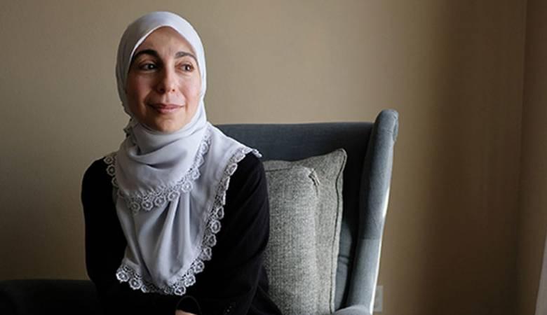 """""""بهية عماوي"""" رفضت التوقيع على تعهد بعدم مقاطعة """"إسرائيل"""" فطردت من عملها في مدرسة أميركية!"""