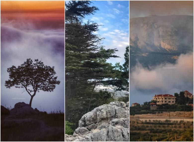 هذا هو لبنان.. صور مذهلة لأكثر من عشر مناطق تعكس سحراً ضبابياً رائعاً