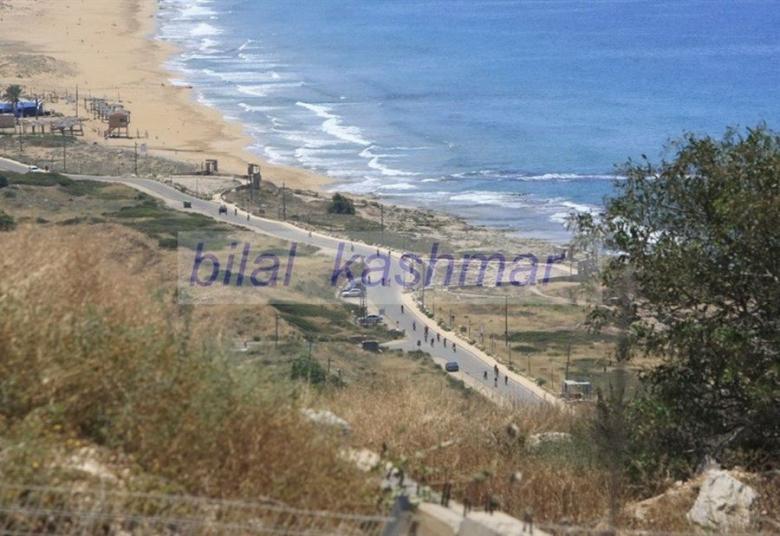 بالصور/ هكذا يبدو الساحل الفلسطيني من لبنان قبالة رأس الناقورة