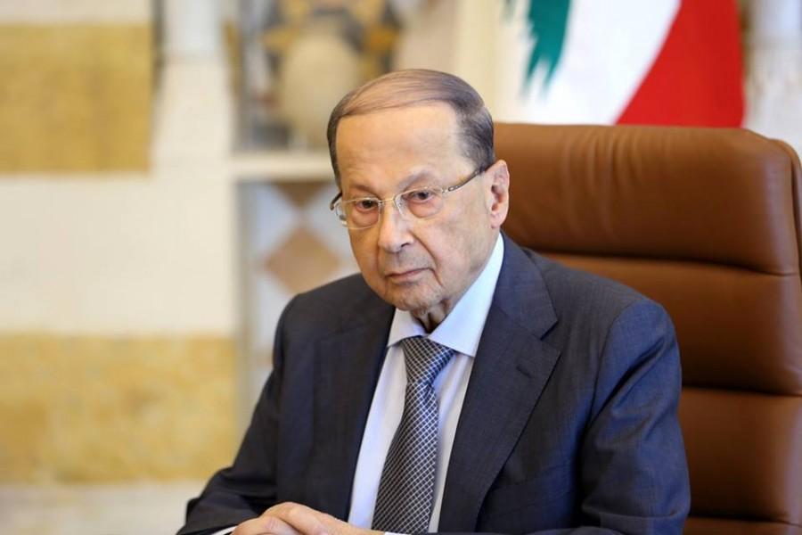 الرئيس عون يوجه في الثامنة مساء غد الخميس رسالة الى اللبنانيين لمناسبة الذكرى الـ 76 للاستقلال يتناول فيها الاوضاع الراهنة والتطورات الاخيرة