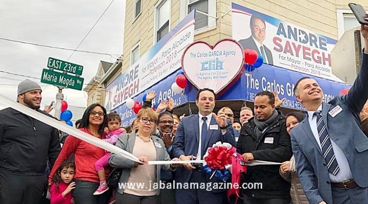بالفيديو / اللبناني الأصل أندريه صايغ رئيساً لبلدية إحدى أكبر مدن نيوجيرسي