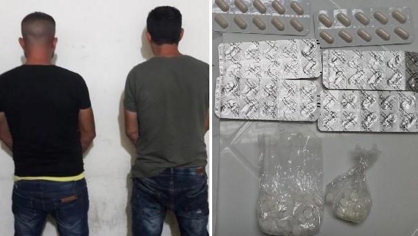 """بالصور/ عُثر على 192 حبة مخدرة داخل حذاء أحدهم... """"المعلومات"""" توقف مروجي مخدرات في مدينتي صيدا وصور"""