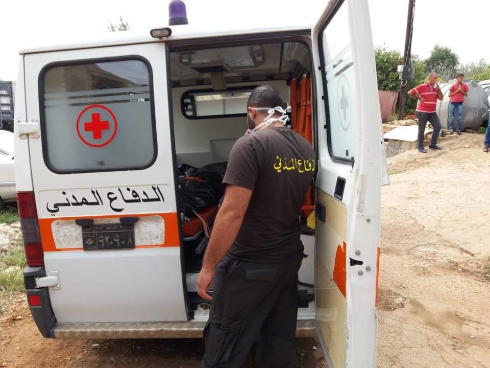 إمرأة من التابعية السورية عثر عليها جثّة في برسا - الكورة