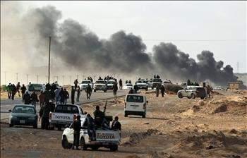 ميليشيات القذافي تشعل حرب المدن ... بالمذابح