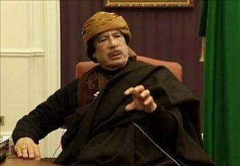 القذافي: سلام العالم سينهار إذا سيطر «القاعدة» على ليبيا