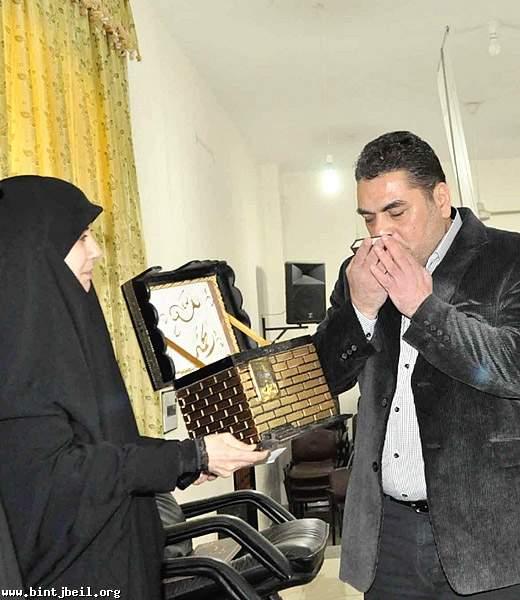 سميرالقنطار في بنت جبيل