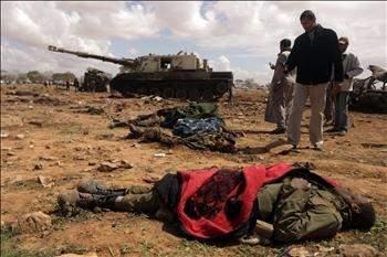 «فجر الأوديسه» يغيّر مسار المعركة وبنغازي تفلت من هجوم القذافي