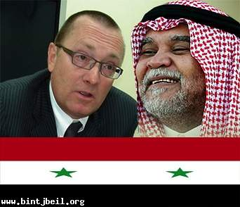 "تفاصيل خطة بندر بن سلطان وجيفري فيلمتان لـ ""تدمير "" سوريا"