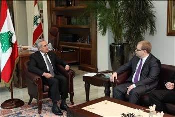 وزير الخارجية الأستوني يلتقي سليمان وبري وميقاتي وبارود وقهوجي وحبيب