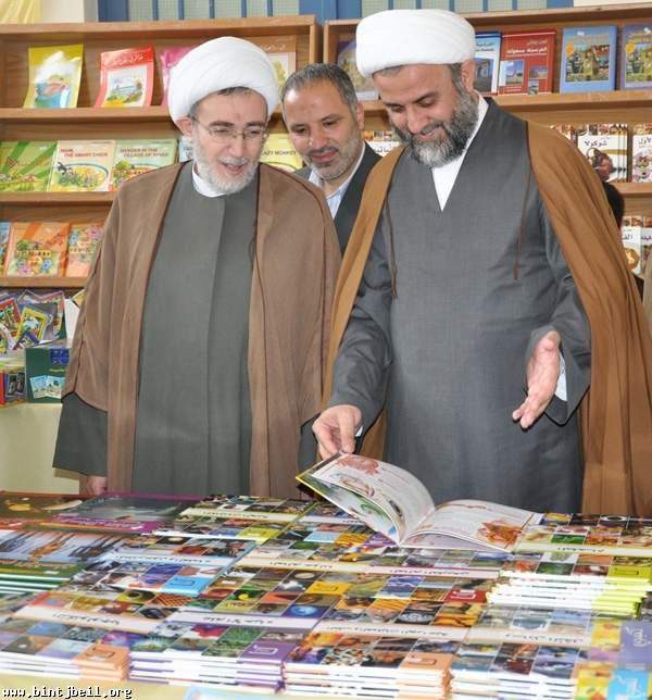 افتتاح المعرض السنوي الثاني للكتاب في مدينة بنت جبيل