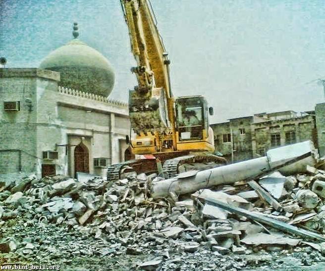 هدم المساجد و حرق المصاحف في البحرين: تفكير وتكفير وهّابي وتنفيذ خليفيّ ساذج؟!