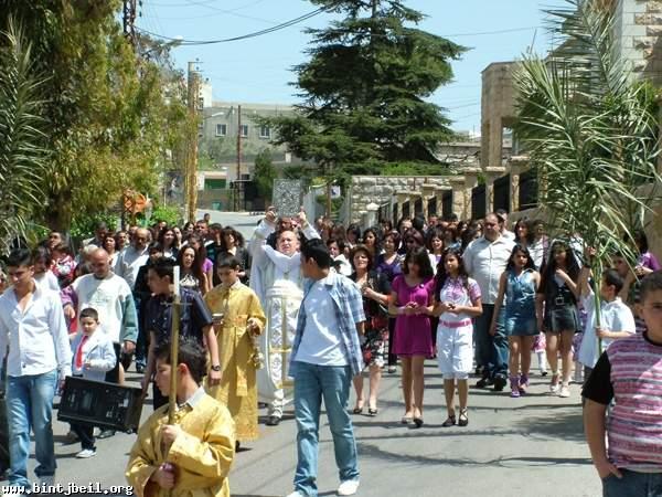 احتفالات بالفصح المجيد في قرى قضاء بنت جبيل