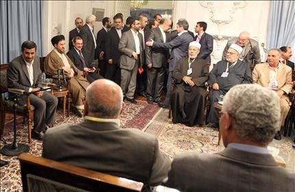 الرئيس احمدي نجاد: تحالف إيران ومصر سيجبر الصهاينة على الرحيل
