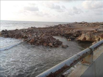 الناقورة: «ردميات خاصة» في البحر