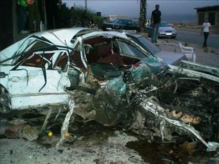 عكار: حادث سير مروّع نتيجة تسرب مياه
