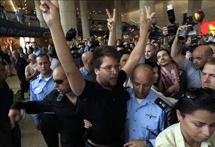 إسرائيل وتواطؤ أوروبي يحاصران المتضامنين الأجانب