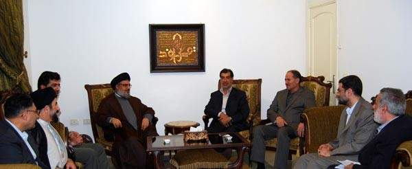 الأمين العام لحزب الله سماحة السيد حسن نصر الله استقبل نائب رئيس مجلس الشورى الإسلامي في إيران على رأس وفد برلماني