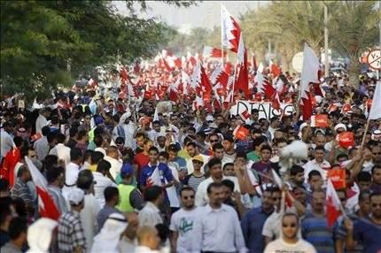 البحرين: عشرات آلاف المعارضين في تظاهرة «الشعب مصدر السلطات»