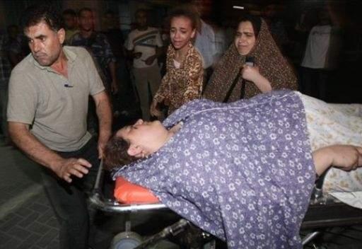 اصابة 3 اشخاص في غارة اسرائيلية على غزة