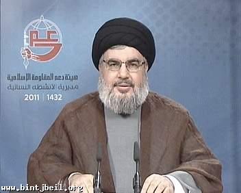 السيد نصر الله : لا يمكن ان يكون هناك اي حل او تسوية على حساب لبنان