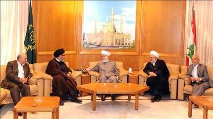 قباني يستقبل وفد «حزب الله»: وأد الفتنة... والوحدة الإسلامية