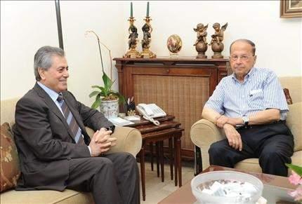 السفير السوري عند عون وبري:  الوضع الميداني يتجه إلى الهدوء
