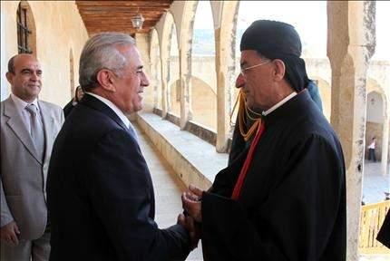 زيارة الراعي لسليمان: تكامل الموقعين الديني والسياسي