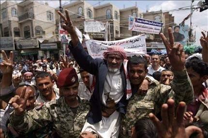 الرئيس اليمني يفوّض نائبه توقيع المبادرة الخليجية