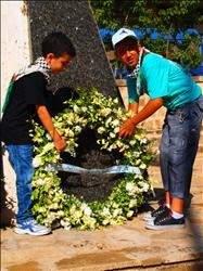 وفد «كي لا ننسى صبرا وشاتيلا» في يومه الثاني: جولة جنوبية واستذكار لمعروف سعد وشهداء قانا