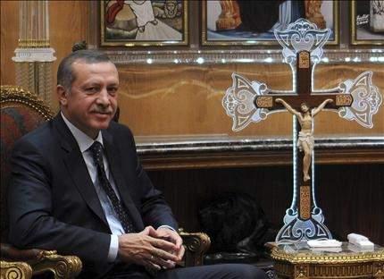 كيف استقبلت مصر الثورة أردوغان