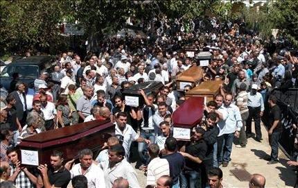أجساد عائلة الحاج ديب تدشن «مقبرة السبعة» في عرمتى