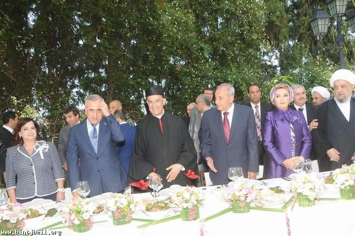 تقرير مصور عن حفل الغداء الذي اقامه الرئيس بري في المصيلح على شرف البطريرك الراعي و رئيس الجمهورية