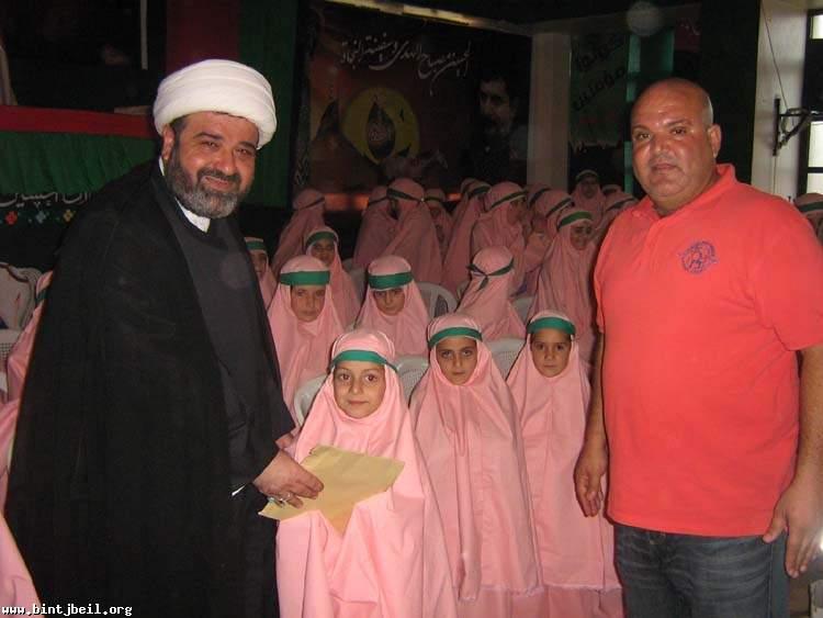 حفل تكريم فتيات بلغوا سن التكليف الشرعي في بلدة ميس الجبل