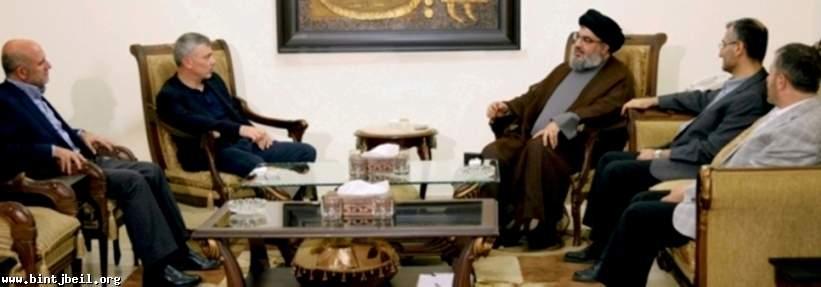 السيد نصرالله التقى فرنجية وإستعرضا الأداء الحكومي والإستحقاقات المقبلة