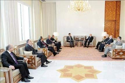 لأسد يلتقي «القومي»: تجاوزنا المرحلة الأصعب