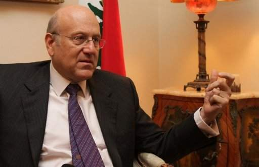 ميقاتي لـ«السفير»: لست خائفاً على الحكومة... ولن أختلف مع «حزب الله»