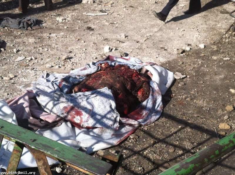 صور مروعة من الانفجار الذي استهدف دمشق اليوم