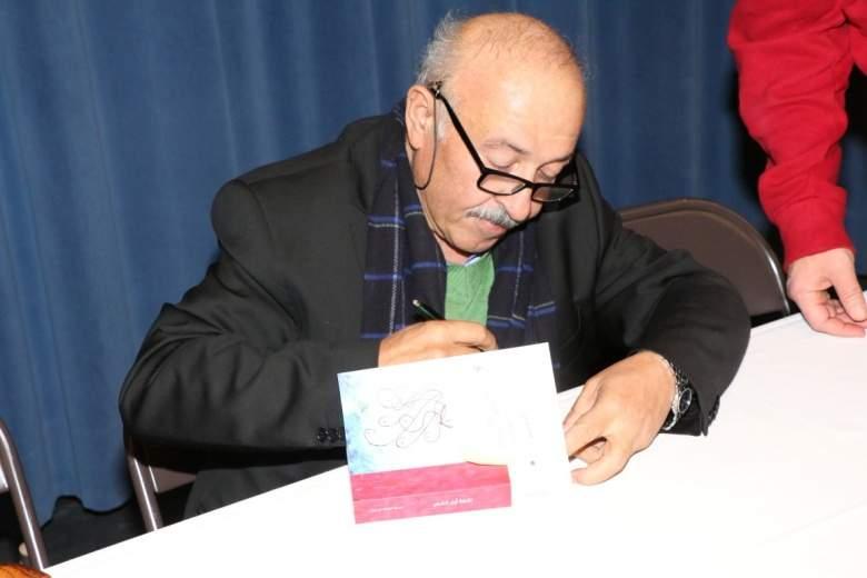 الشاعر بلال شرارة وقّع كتابه (نقطة اول الشعر) في ديربورن