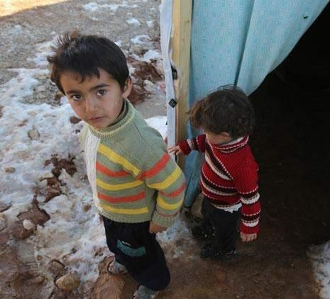 اللاجئون في خيام «الأمم» الإغاثة الفاسدة
