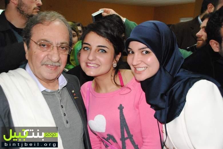 الجامعة اللبنانية الدولية في النبطية كرمت الفنان السوري دريد لحام
