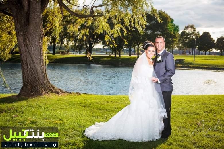 زفاف العروسين أحمد حسين حمادة على الانسة ندى رياض شاتيلا في ديربورن