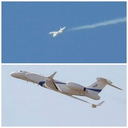 بالصورة / الجيش الاسرائيلي يحلق لأول مرة بطائرة تجسسية مخصصة للعمليات الكبيرة في اجواء الجنوب اللبناني