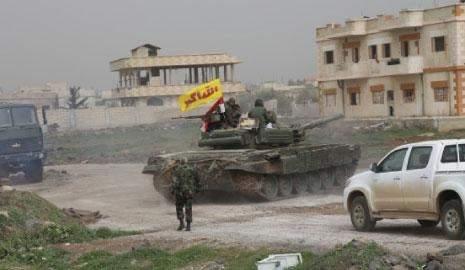 جنوب سوريا: معركة تحصين دمشق .. تثبيت خط دفاعي وتمهيد لتحرير بقية ريف العاصمة